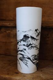 grand vase paysage 50cm
